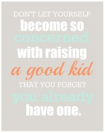 Je kind is ook helemaal goed, zoals het is!