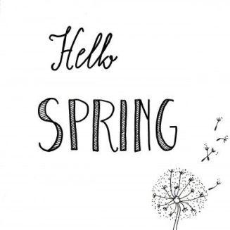 Het voorjaar komt!