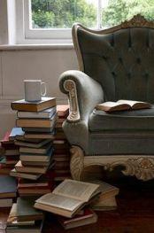 heerlijk genieten van lezen en thee