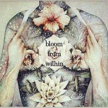 Goed voor jezelf zorgen is als de geur van een bloem, xx