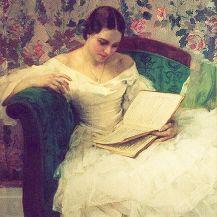 Alleen tijd, inspiratie door lezen.