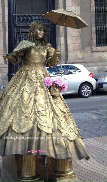 Levend standbeeld, :-)