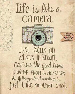 Just focus