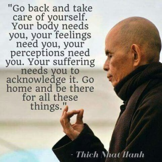 Mindfulness master.